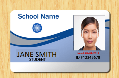 how to create student id card